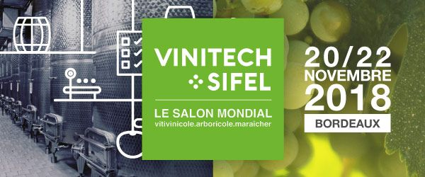 Salon Vinitech-Sifel / 20 – 22 nov. 2018
